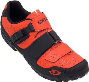 Giro Terraduro Mtb Cycling Shoes Glowing Red/black Size 42 - The Terraduro was created to navigate the demands of all-mountain riding and enduro
