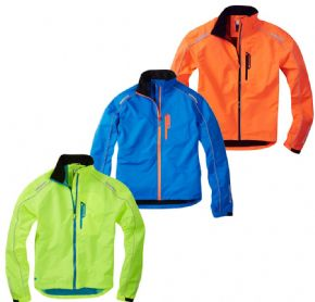 Madison Protec Waterproof Jacket - Durable polyester fabric is waterproof windproof and breathable with a mesh lining