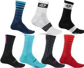 Giro Comp Racer High Rise Cycling Socks - This sock could easily turn into your go-to option for long miles in the sun.