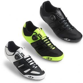 Giro Sentrie Techlace Road Cycling Shoes 42 - BLACK - MOST COMFORTABLE IN THE DIRT