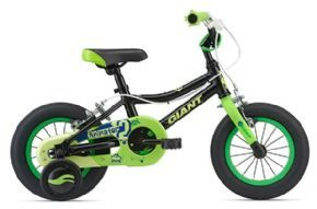 Giant Animator 12 Inch Boys Bike 2018 - Lightweight aluminium frame is built tough for neighbourhood adventures.