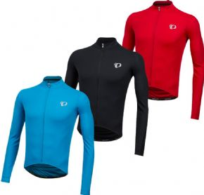 Pearl Izumi Select Pursuit Long Sleeve Jersey  2018 - ELITE Thermal Fleece fabric provides superior moisture transfer and warmth