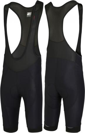 Madison Roadrace Apex Bib Shorts Black  2018 - Double and triple needle stitching in all the right areas ensure bombproof construction