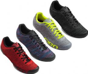 Giro Empire E70 Knit Road Shoes Size 41.5 - MULTI COLOUR HEATHER - MOST COMFORTABLE IN THE DIRT